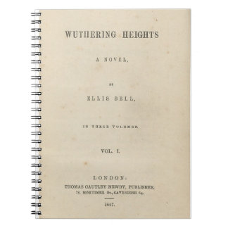 Wuthering Heights Original 1847 Book Cover