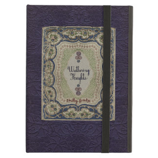 Wuthering Heights Vintage Book Design iPad Air Covers
