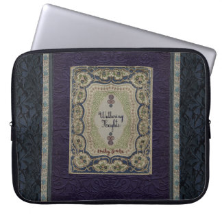 Wuthering Heights Vintage Book Design Laptop Computer Sleeves
