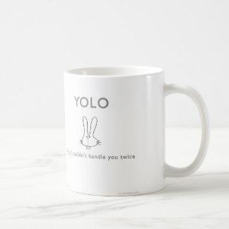 ww040 YOLO god twice badass bunny waitwot Coffee Mug