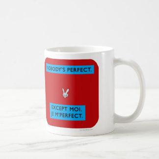 ww044 waitwot badass bunny nobody's perfect coffee mug