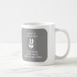 ww049 waitwot badass bunny idiot valve open mug