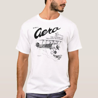 WW1 Aero Sopwith Camel / Sopwith Snipe T-Shirt