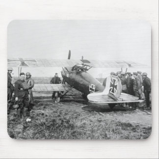 WW1 German Fighter Plane, 1910s Mouse Pad