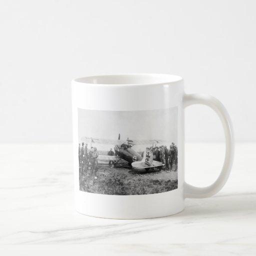 WW1 German Fighter Plane, 1910s Coffee Mugs
