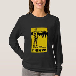 WW1 Recruiting Poster T-Shirt