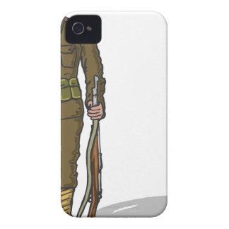 WW1 soldier Marine Sketch Case-Mate iPhone 4 Case