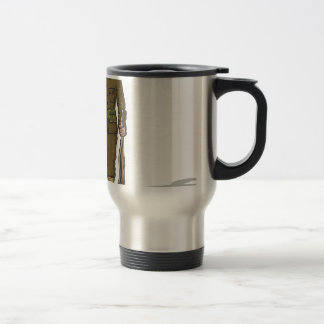 WW1 soldier Marine Sketch Travel Mug