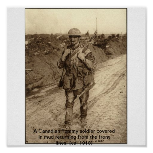 WW1 Soldier Poster