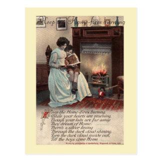 WW1 song postcard