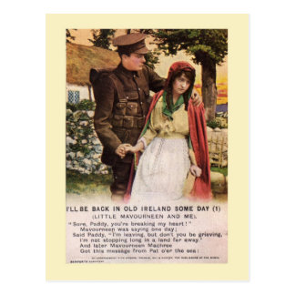 WW1 Songcard Postcard