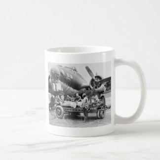 WW2 Airplane and Crew: 1940s Mugs