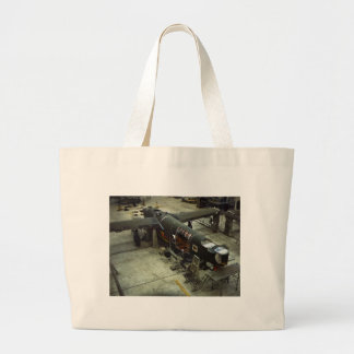 WW2 Airplane Factory, 1940s Tote Bag