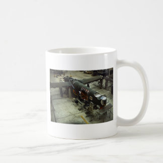 WW2 Airplane Factory, 1940s Mug