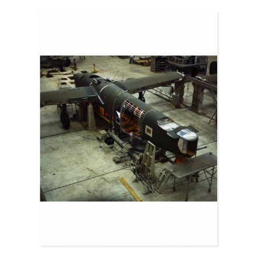 WW2 Airplane Factory, 1940s Post Card