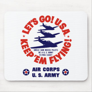 WW2 Army Air Corps Mouse Pad
