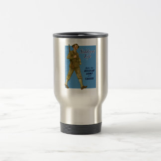 WW2 Army Recruiting Poster Travel Mug