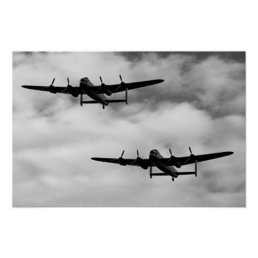 WW2 Avro Lancaster Bomber Posters