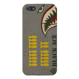 WW2 bomber shark teeth iPhone 5 Cover