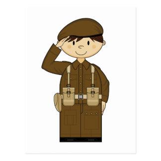 WW2 British Army Private Postcard