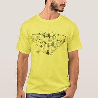 WW2 German Flying Wing Fighter Plane T-Shirt