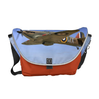 WW2 Hurricane Fighter Plane Commuter Bags