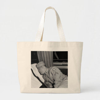 WW2 Soldier Napping, 1943 Tote Bags