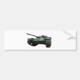 WW2 Tank Bumper Sticker