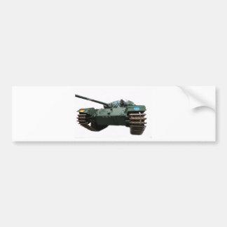WW2 Tank Bumper Sticker