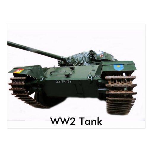 WW2 Tank Post Cards