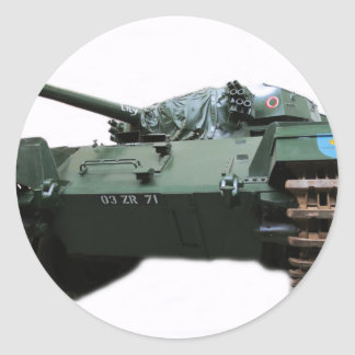 WW2 Tank Round Sticker