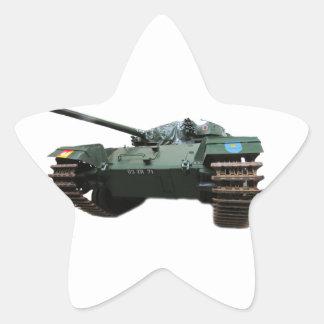 WW2 Tank Star Sticker