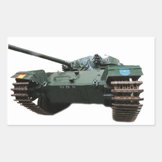 WW2 Tank Rectangle Sticker