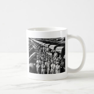 WW2 Truck Ladies, 1940s Mug