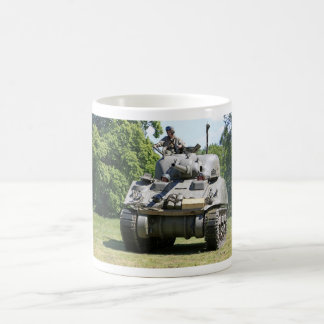 WW2 US Army Sherman Tank Mug