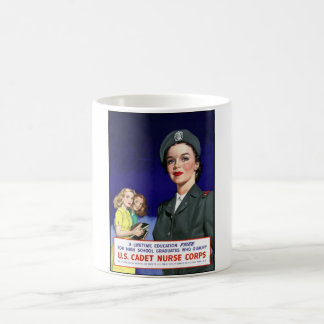 WW2 -- US Cadet Nurse Corps Coffee Mug