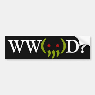 WW Cthulhu Do? v2 sticker