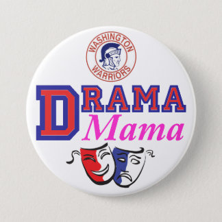 WW Drama Mama 7.5 Cm Round Badge