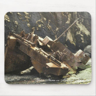 WW II Landing Craft Wreck on Amchitka Island Mouse Pad