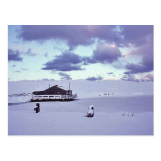 WW II Pumphouse Cabin on Amchitka Island Postcard