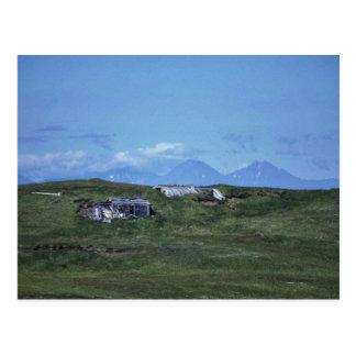 WW II Quonset Hut on Amchitka Island Postcards