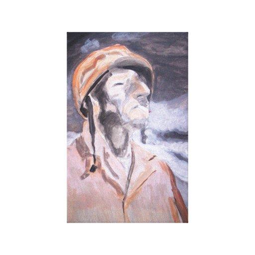 WW II Soldier Canvas Print