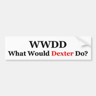 WWDD1 BUMPER STICKER