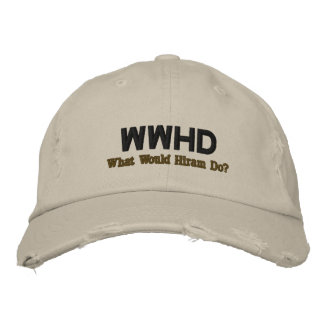 WWHD EMBROIDERED CAP