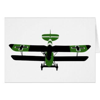 WWI 001 - Albatros DV Card