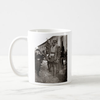WWI American Field Serviceman + French Orphans Mug