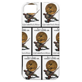 WWI Gold for French Victory iPhone 5 Cover