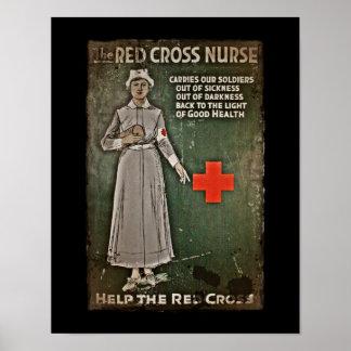 WWI Nurse Raising Funds Poster