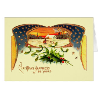 WWI Patriotic Christmas Greeting Card