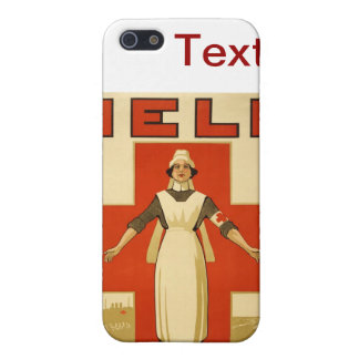 WWI Poster Red Cross Vintage Case For The iPhone 5